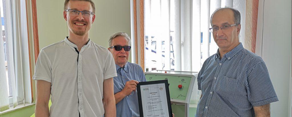 Komory OXYstar uzyskały certyfikat Międzynarodowego Stowarzyszenia Normobarii